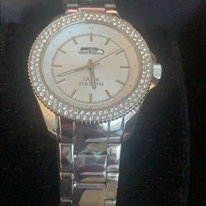 JML jack mason silver watch new with box unisex